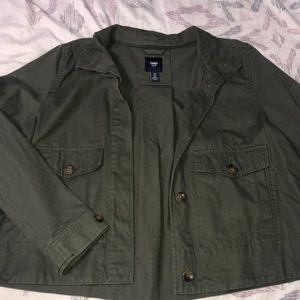 Medium Green GAP Jacket